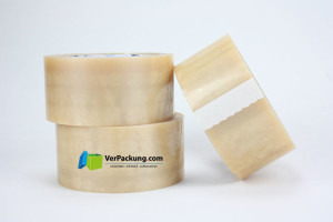 Packband premium - PVC/NK - 50 mm x 66 lfm transparent