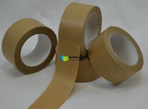 Packband Papier - 50 mm x 50 lfm braun