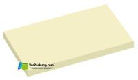 Haftnotizen 125 x 75 mm gelb blanko