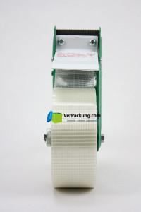 Abroller für Packklebeband bis 50mm Breite mit Wellenschliffmesser