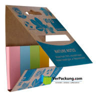 Recycling Page Marker 20 x 50 mm 4er