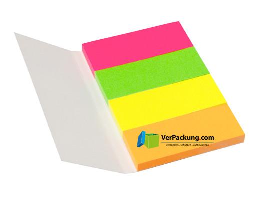 Page Marker 20 x 50 mm Neonmix 4er Umschlag