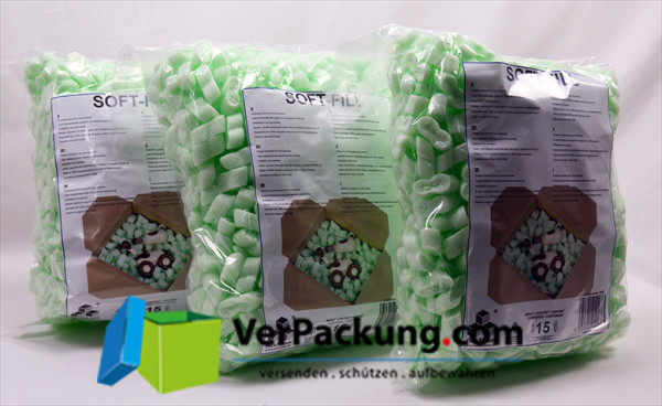 Füllmaterial flo-pak green 15L