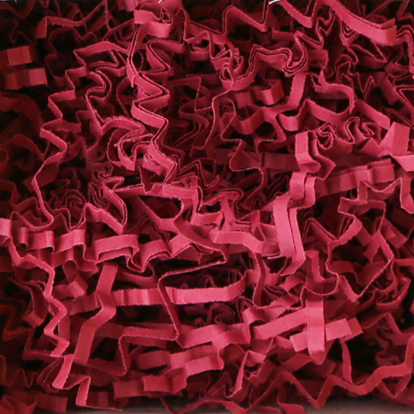 Presentfill farbiges Füllmaterial Bordeaux / Weinrot 10KG