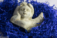 Presentfill farbiges Füllmaterial Saphir Blau 5KG