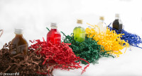 Presentfill farbiges Füllmaterial Sonnengelb 10KG