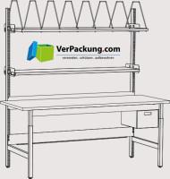 Komplett-Packtisch hoch 1.600 x 900 mm