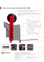 Palettenumreifungsmaschine DBA 1300