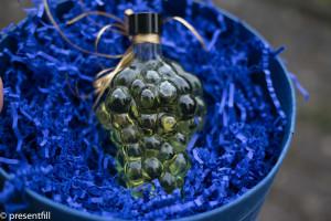 Presentfill farbiges Füllmaterial Saphir Blau 250 g