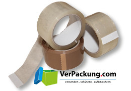 Packband standard - PP/AC - 50 mm x 66 lfm braun