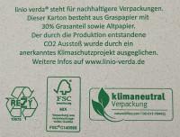 Faltkarton 305 x 220 x 150 mm - linio verda®