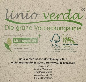 Faltkarton 400 x 300 x 200 mm - linio verda®