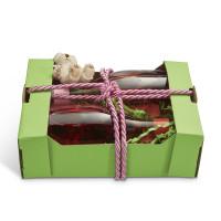 Geschenkkorb Obstkiste klein Apfel Grün