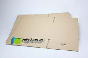 Faltkarton 580 x 370 x 360 mm - 2.40 BC - FEFCO 0201