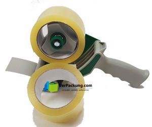 Packband Handabroller incl. 2 Rollen Packband