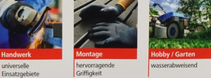 ulith-PROFI-Feinstrick grau/schwarz 9 / L