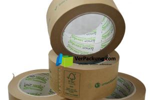 linio verda® Packband Papier - 50 mm x 50 lfm braun