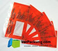 Lieferscheintaschen - Begleitpapiertaschen - Dokumententaschen aus PCR Recyclingmaterial DIN lang - 1000 Stück
