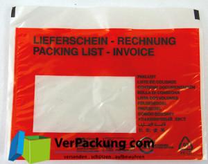 Lieferscheintaschen - Begleitpapiertaschen -...