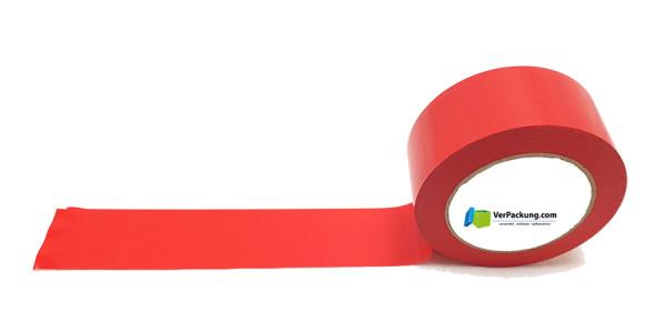 Bodenmarkierungsband rot 50 mm x 33 lfm