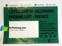 linio verda® Lieferscheintaschen - Begleitpapiertaschen - Dokumententaschen C6 - 1000 Stück - Papierversion