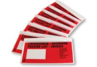 Lieferscheintaschen - Begleitpapiertaschen - Dokumententaschen Din Lang - 250 Stück im Dispenser