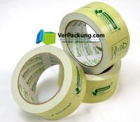 linio verda® Packband Papier - 50 mm x 50 lfm grün