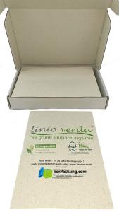 linio verda® Etiketten aus Graspapier -...