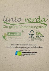 linio verda® Etiketten aus Graspapier - Größe Din A4