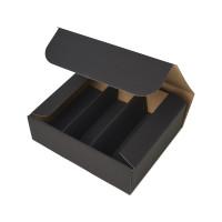 Geschenkbox mit Sichtfenster - Schwarz