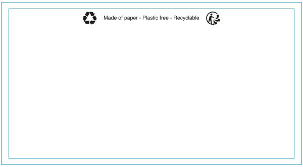 linio verda® Lieferscheintaschen - Begleitpapiertaschen - Dokumententaschen DIN lang - 1000 Stück - Papierversion