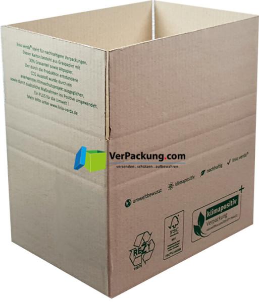 Faltkarton 308 x 215 x 220 mm - linio verda®