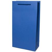 Flaschentasche 2er, Saphir Blau