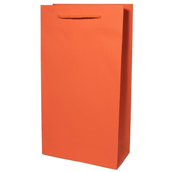 Flaschentasche 2er, Orange