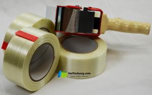 Filamentklebeband - 50 mm x  66 lfm fadenverstärkt