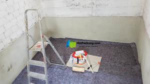 Abdeckvlies / Bodenschutzvlies / Renovierungsvlies 1 x 25 m