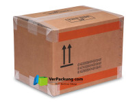 Gefahrgutkarton UN4 - 360 x 260 x 300 mm