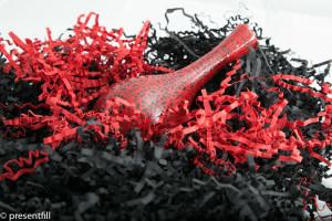 Presentfill farbiges Füllmaterial Rubin Rot 2KG
