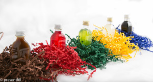 Presentfill farbiges Füllmaterial Sonnengelb 2KG