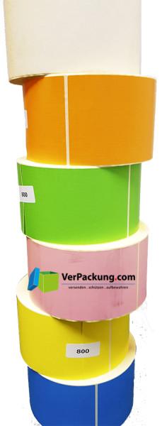 Thermo Eco ( Logistik ) Etiketten ca. 100 x 200 mm verschieden Grundfarben