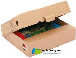 Archivbox / Stehsammler / Ablagebox A4 322 x 264 x 72 mm